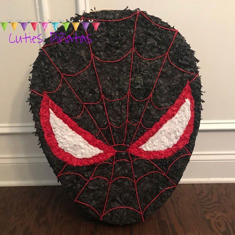Photo of Spiderman-Verse Pinata, Spiderman Party supplies, Spiderman Theme Party, Spiderman Party decorations