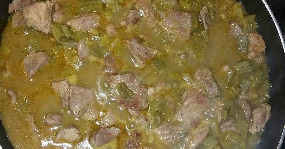 Recetas Comidas Con Bistec De Puerco Carne De Puerco Con Nopales Recipe Nopales Recipe Mexican
