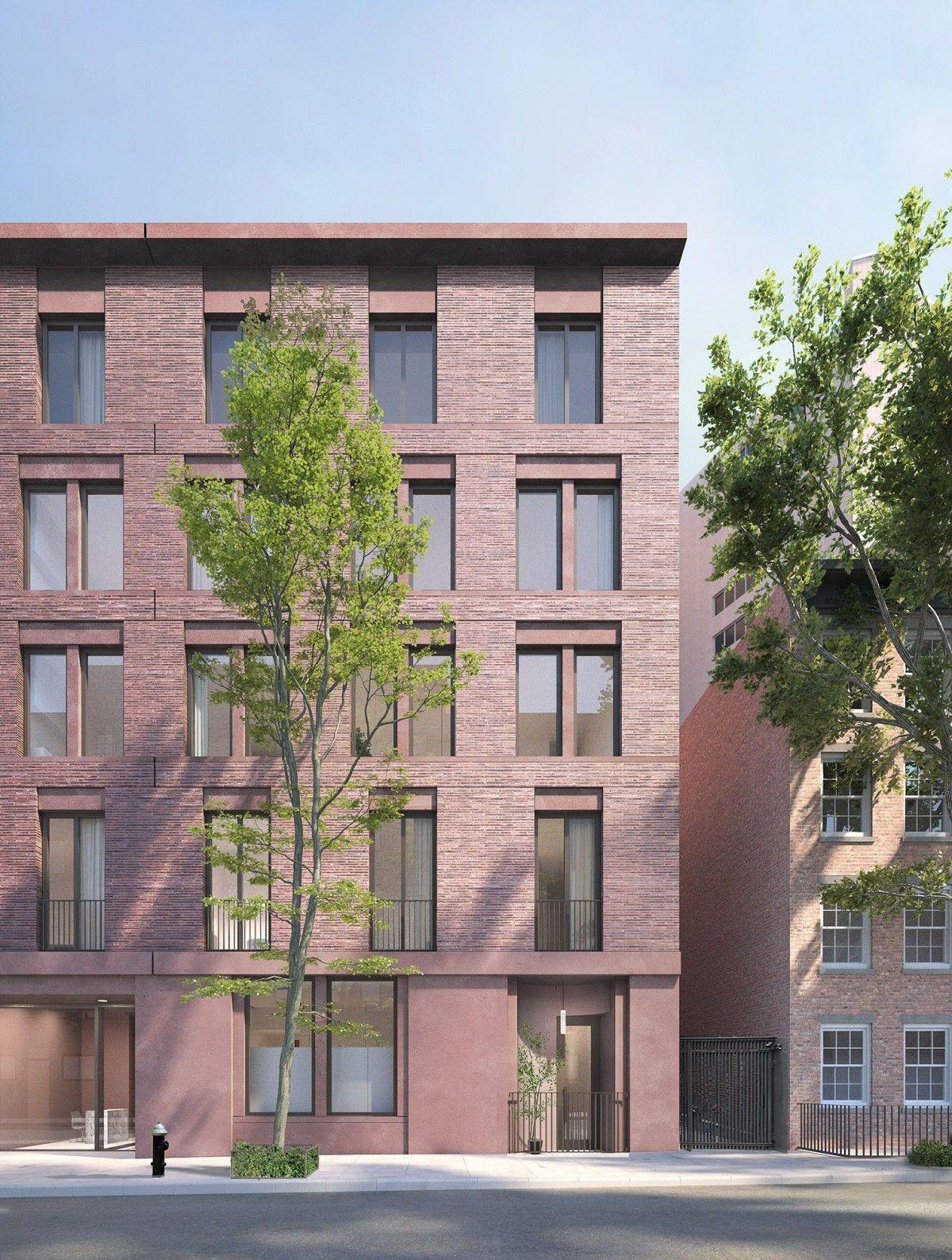 David Chipperfield   Jane Street apartment building   New
