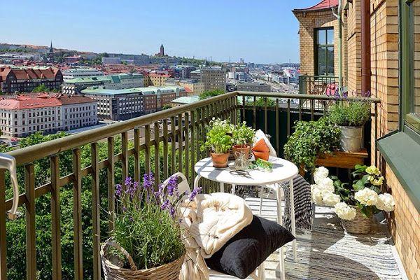 Imagen 0 Hogar Pinterest Pequeña terraza, Balcones y Terrazas