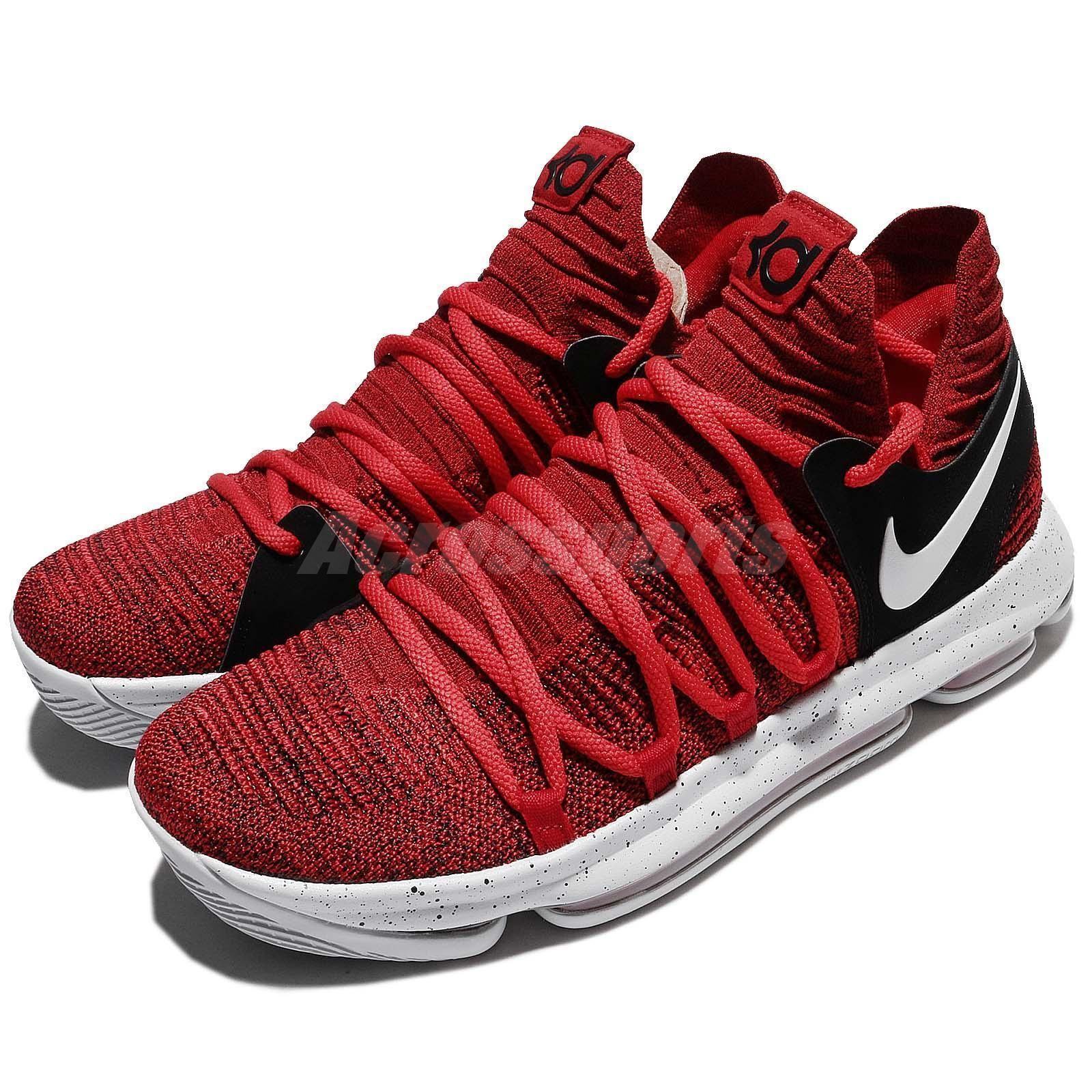 Nike Zoom KD10 EP X KDX Kevin Durant Red Velvet Cupcake Men Shoes 897816-600 5b85f6c51