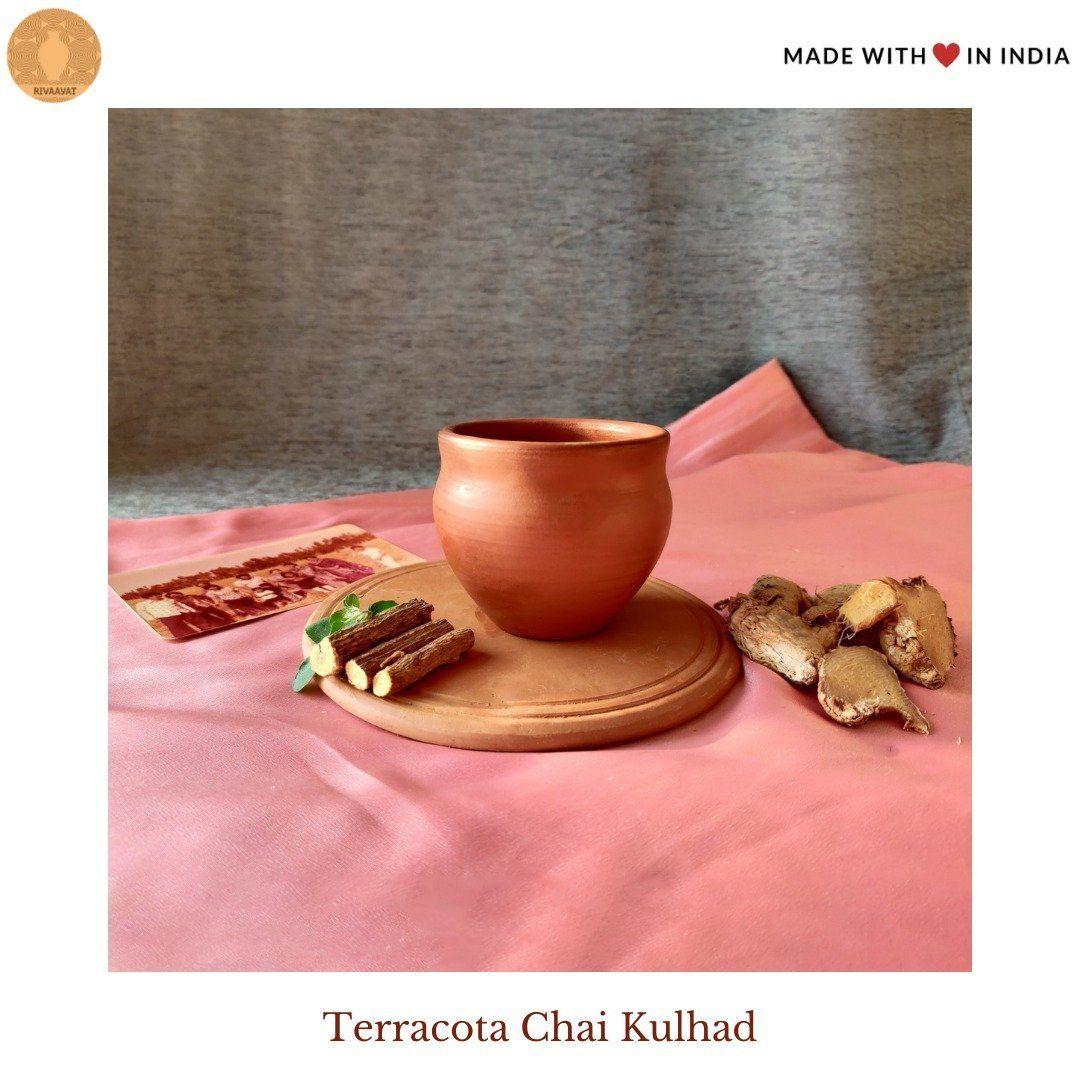 Terracotta Chai Kulhad (Indian Clay Tea Cups) – Set of 6