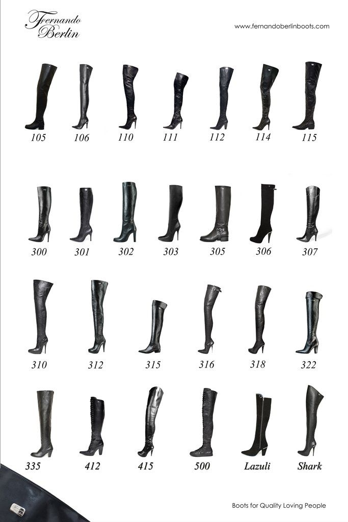 Discover our entire collection of leather boots made to measure ...