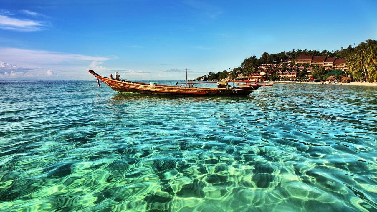 جزيره كوه ساموي Koh Phangan Thailand Travel Relaxing Vacations