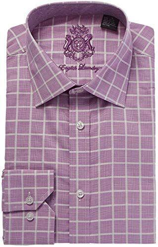 Amazing Offer On English Laundry Light Purple With White Checks Dress Shirt Online Check Dress Shirt Shirt Dress Mens Shirt Dress