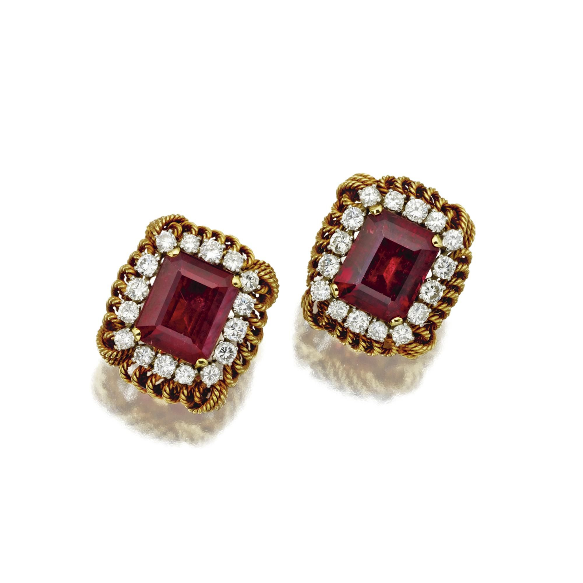 web fine david earrings en s jewels auctions webb sotheby