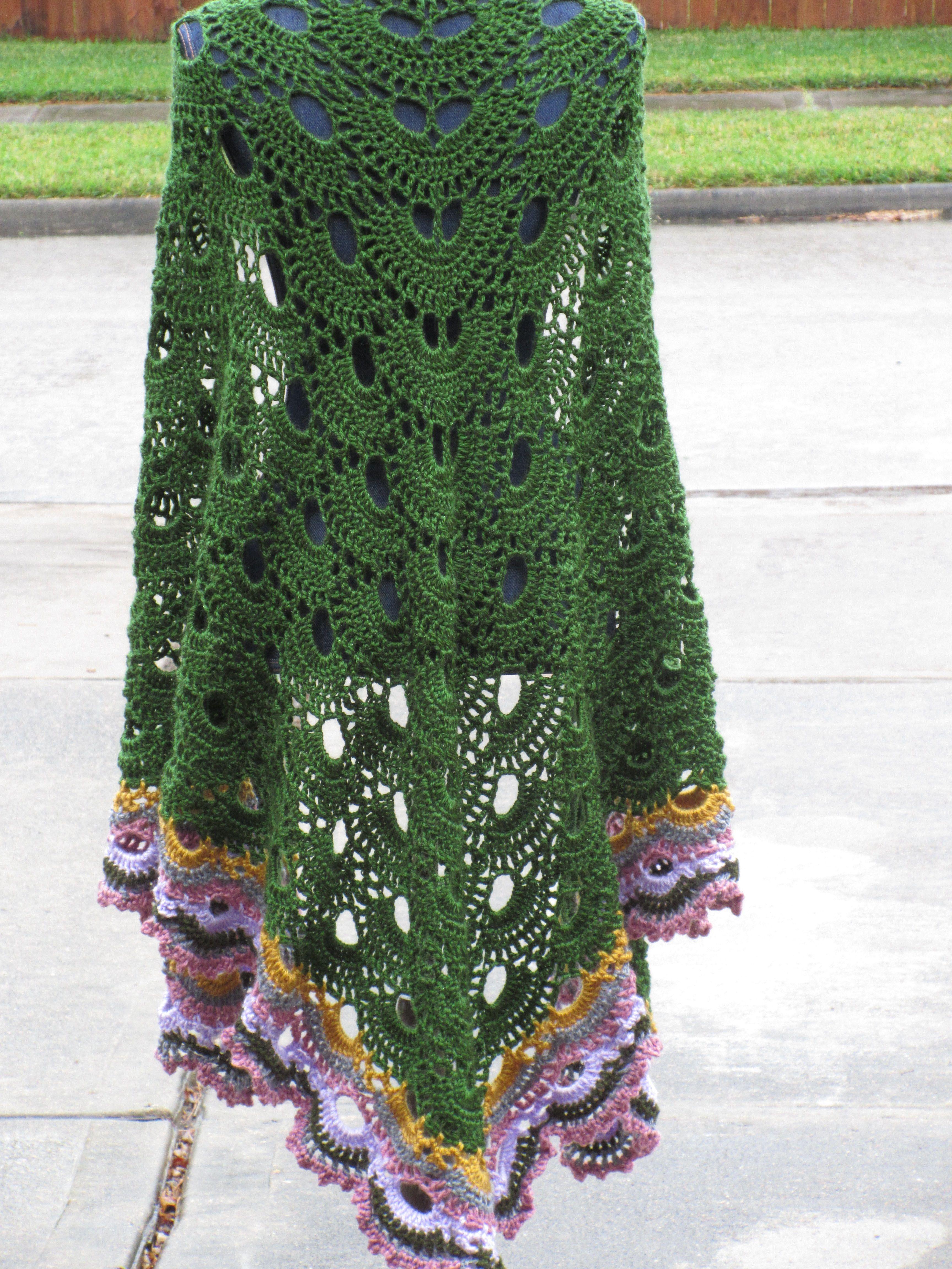 Crochet Shawls & Shawl Patterns Board by Crochet by Harrie ...