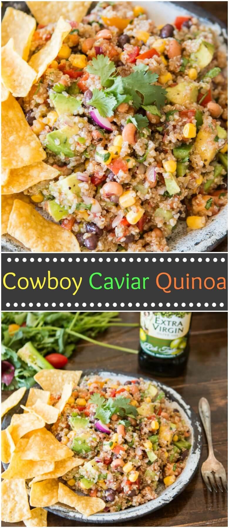 Photo of Cowboy Caviar Quinoa [+ Video] – Oh Sweet Basil