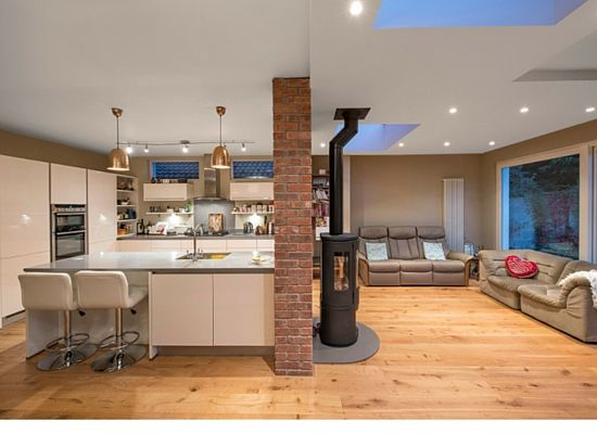 This Howth House Extension and Renovation brought the kitchen and