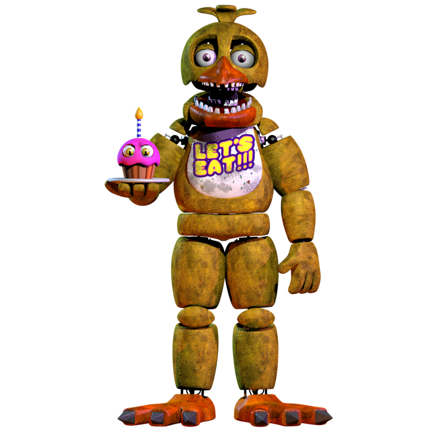 Unwithered Chica V2 By NathanzicaOficial (With Images