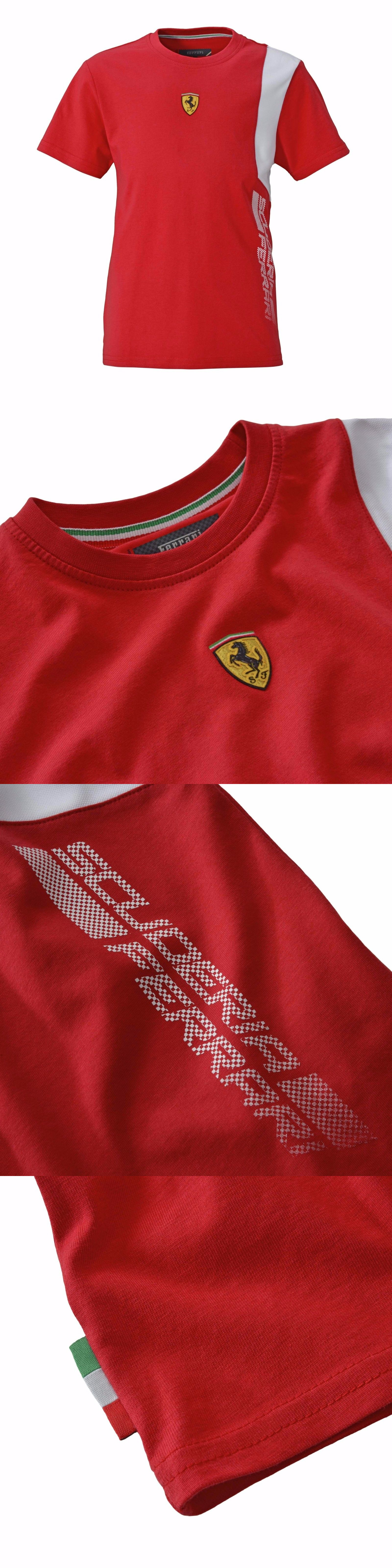patches sleeve online kids d official en printed lu ferrari scuderia shirt item with short store unisex t