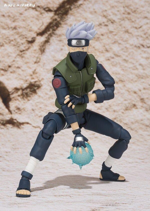 Nendoroid 724 Anime Naruto Shippuden Hatake Kakashi PVC Figure New In Box