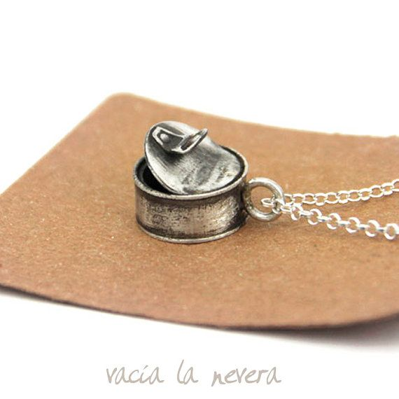 sterling silver choker necklace Silver charm by vacialanevera