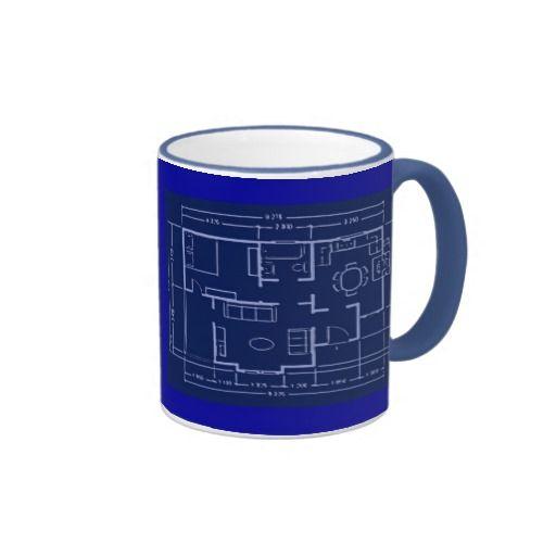 Blueprint house plan mug malvernweather Choice Image