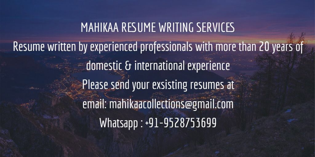 mahikaa vastu in 2020 Resume writing services, Writing