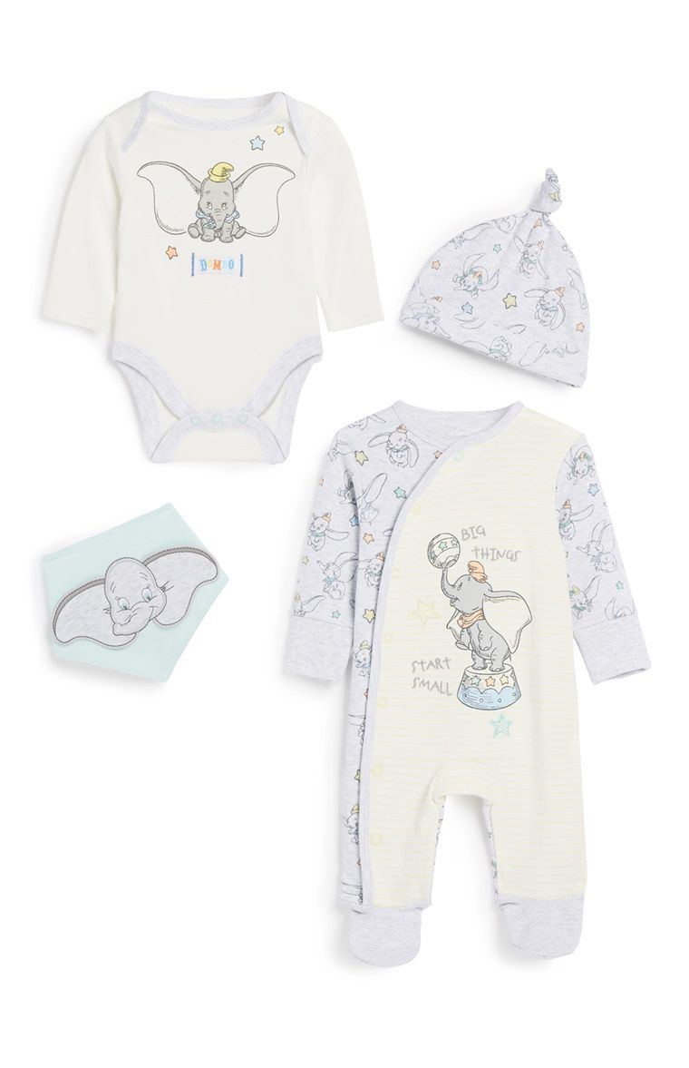 PRIMARK BABY GIRL DISNEY DUMBO 2 PIECE OUTFIT