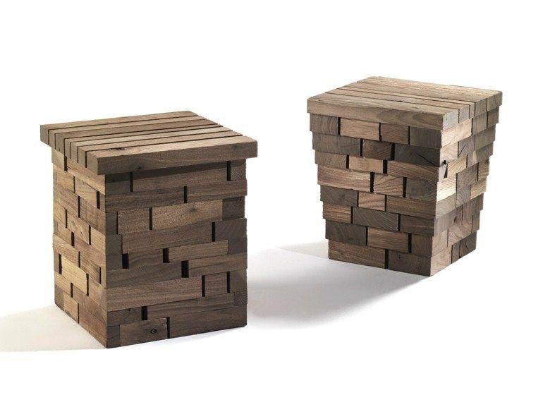 Sgabello Basso ~ Sgabello basso in legno io by riva design maurizio riva