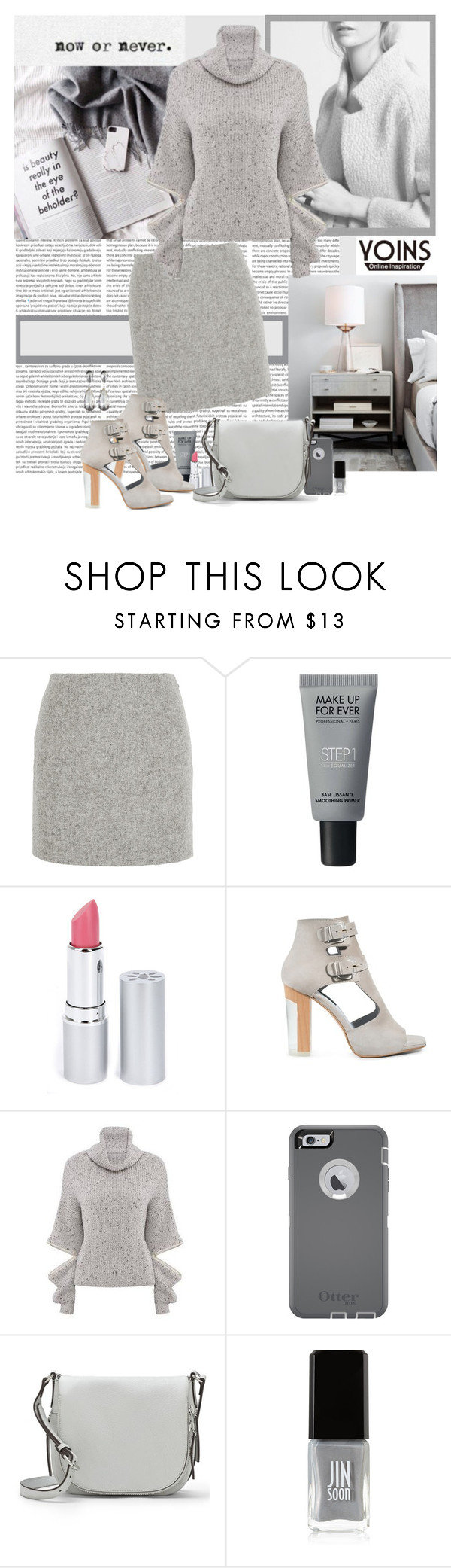 """""""Subtlety"""" by polybaby ❤ liked on Polyvore featuring Atto, MAKE UP FOR EVER, HoneyBee Gardens, Miista, OtterBox, Vince Camuto, JINsoon, Kenneth Jay Lane and yoinscollection"""