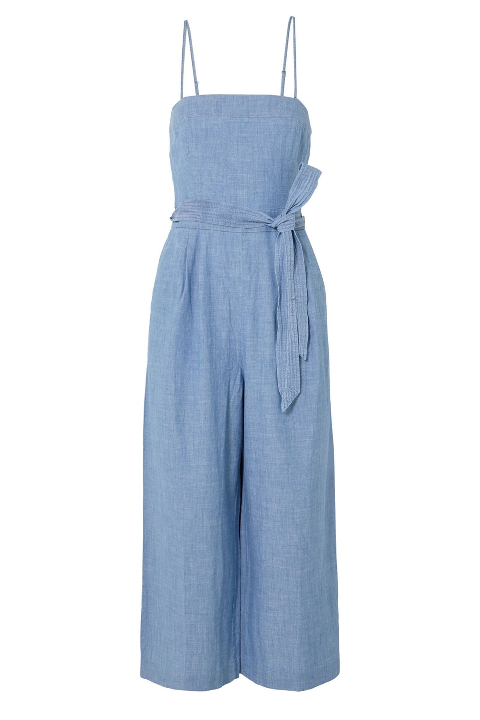 94ac1cba4e5 Gorgeous chambray blue jumpsuit for women - J.Crew Marseille Cotton  Chambray Jumpsuit (Regular and Petite) at Nordstrom