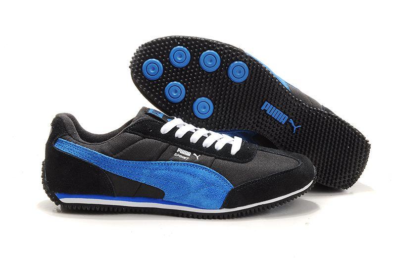 Puma Vogue Usain Bolt Running Shoes Black/Blue | SNEAKERS ...