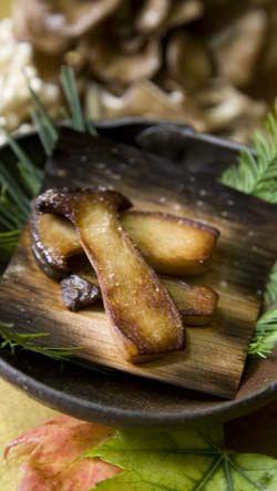 braised eryngii mushrooms kinoko no shioyaki recipte fran oise