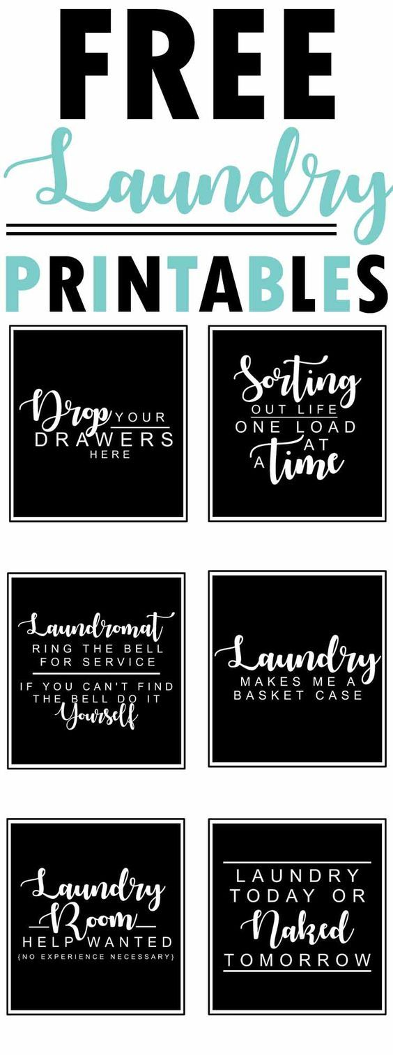 Free Laundry Room Printables The Mountain View Cottage Laundry In Bathroom Laundry Room Printables Laundry Room Decor