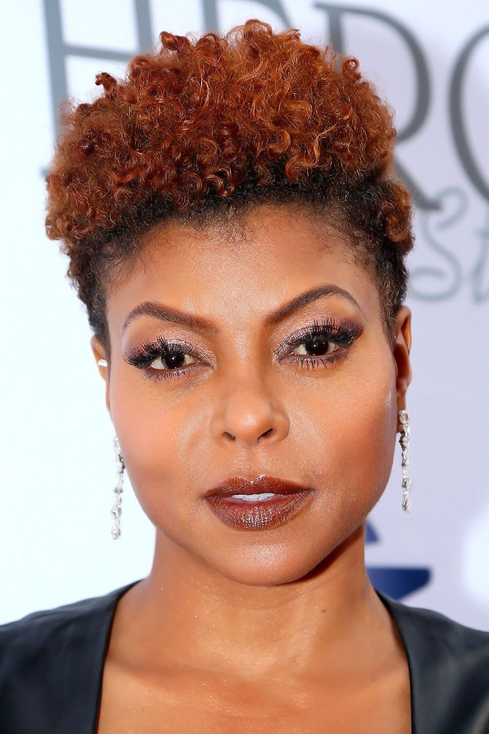 Taraji p henson hensonus curly pixie lifts the face and lengthens