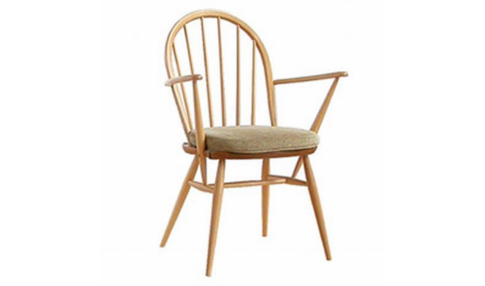Windsor dining armchair from Ercol. A beautifully crafted design