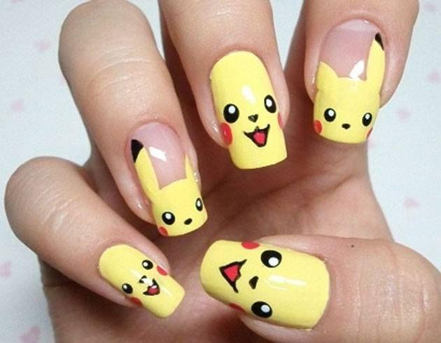 Emoji Nail Art - Let's Make Some Cute Emoji Nail Art Nail Art, Cute Emoji And Art