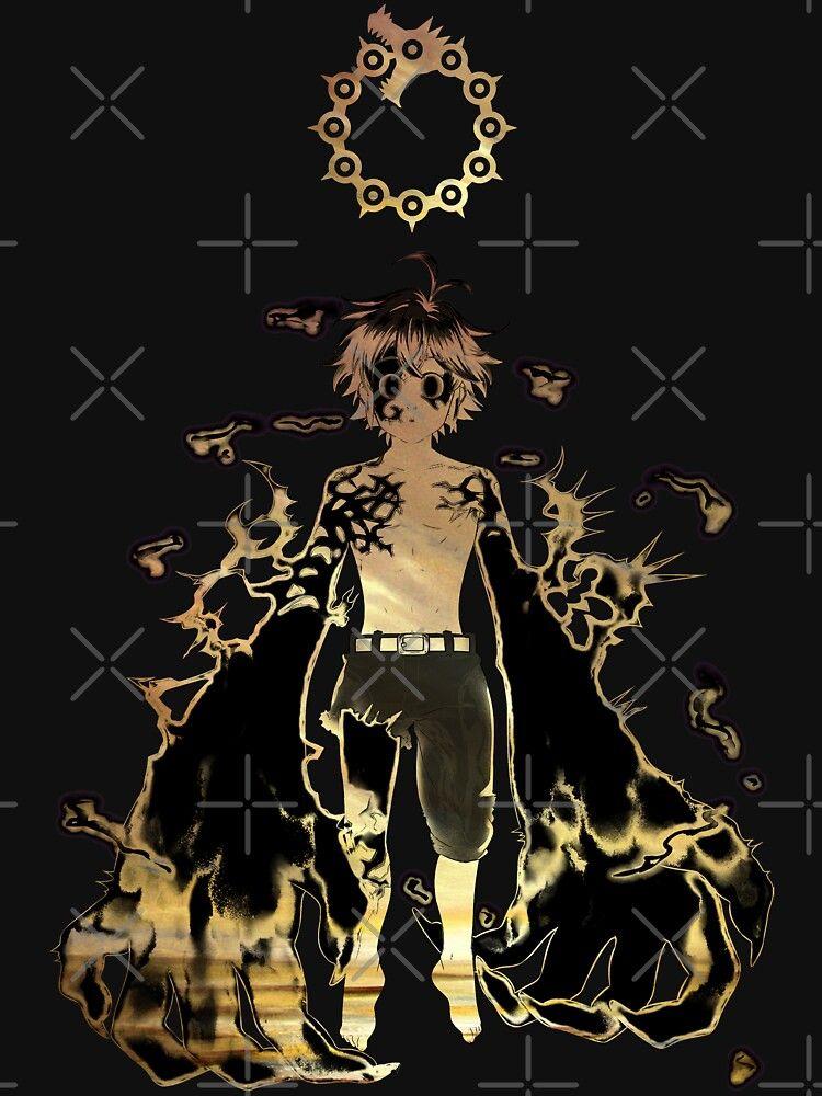 Meliodas Seven Deadly Sins Essential T Shirt By Blason In 2021 Seven Deadly Sins Anime Seven Deadly Sins Anime Wallpaper