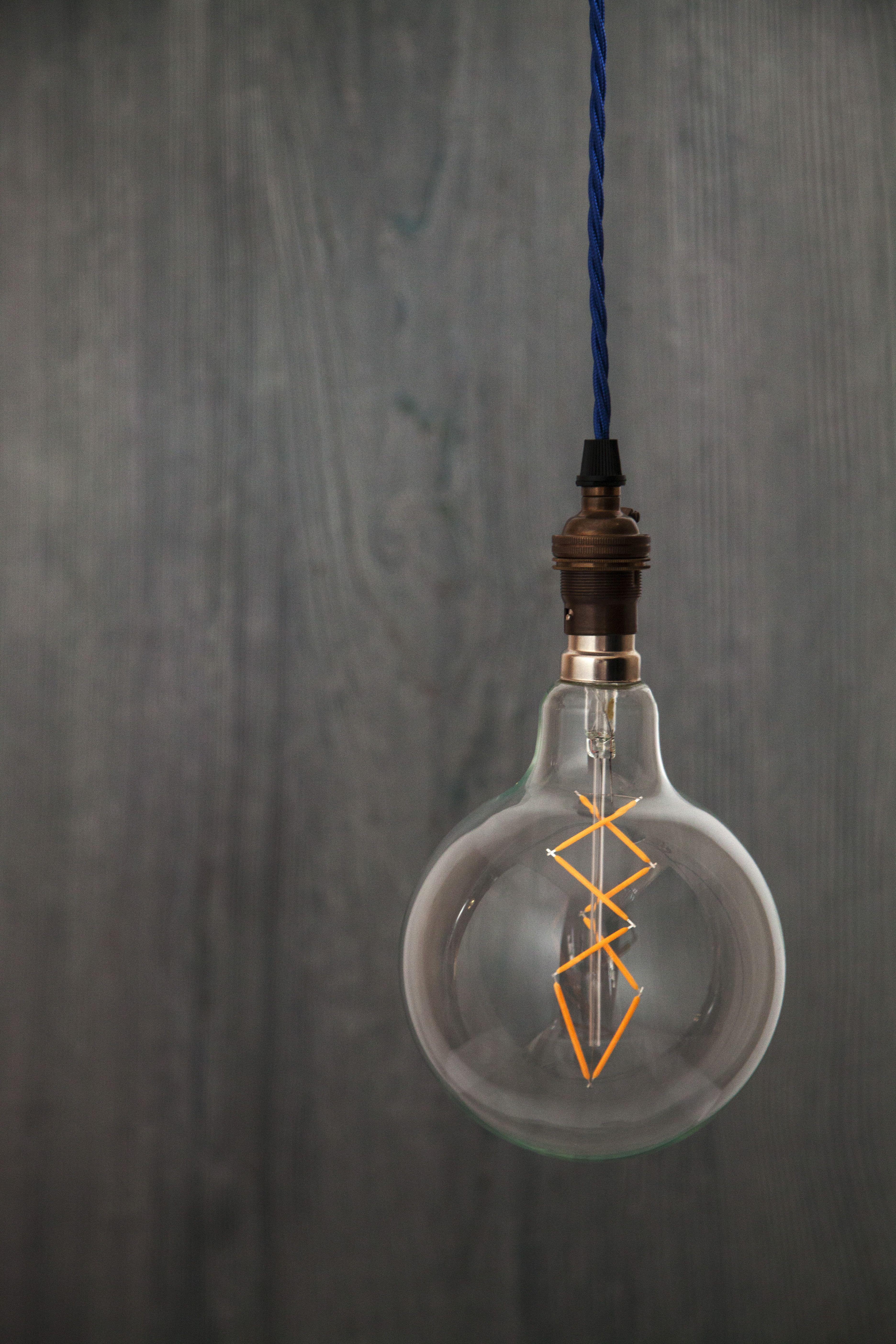 Tala 'Aura' bulb has a unique Geometric LED filament ...