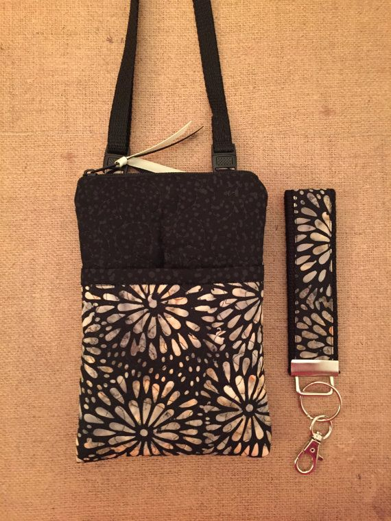 Iphone 6 Plus Purse Travel Bag Cell Phone Case Carrier Samsung Note Shoulder Crossbody