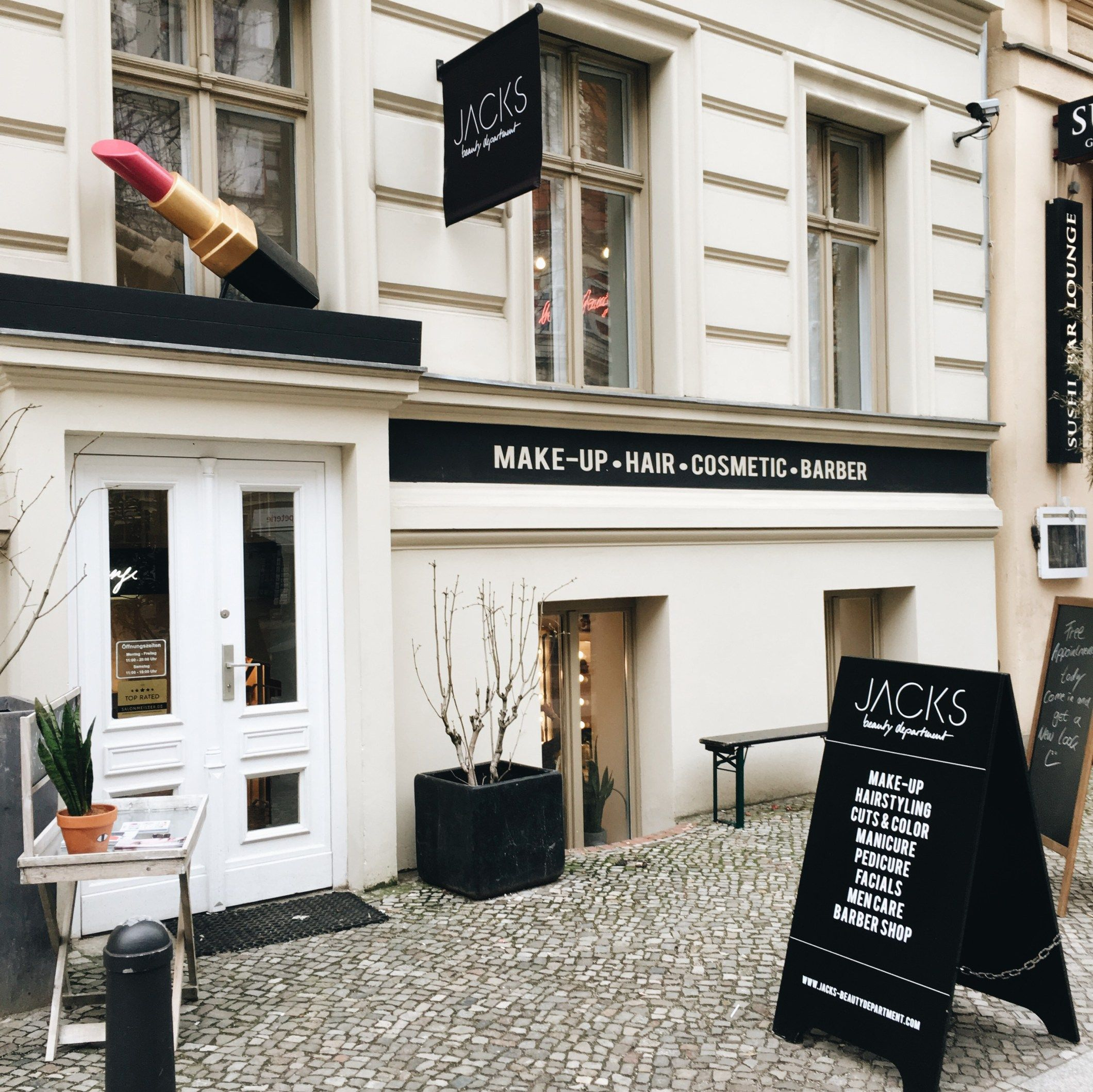 Jacks Beauty Department, Kastanienallee 19, 10435 Berlin ...