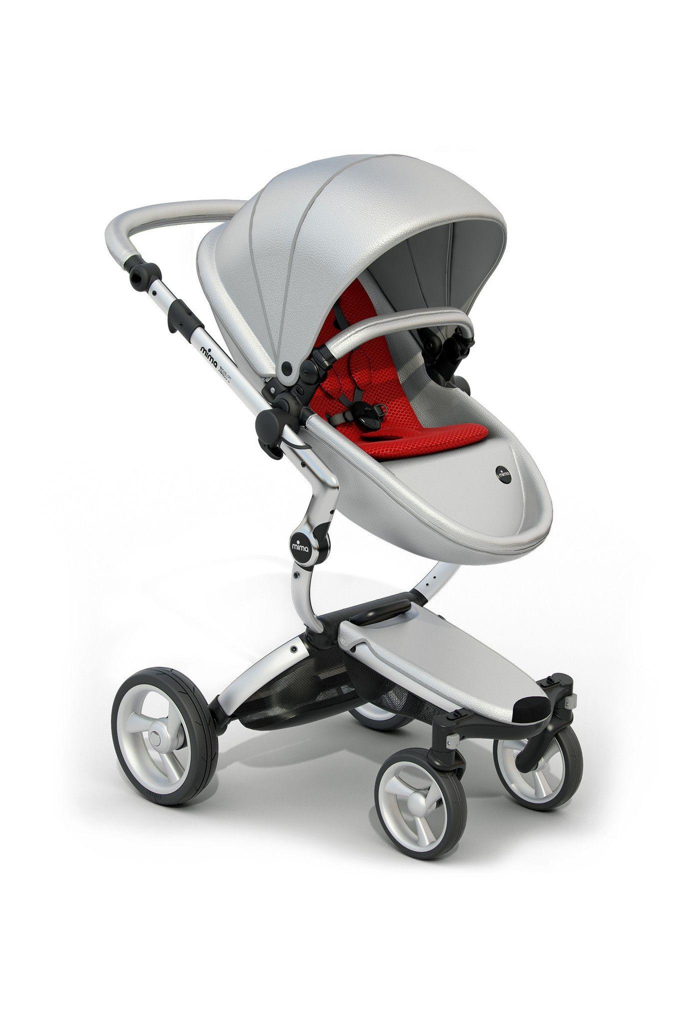 Mima Xari Stroller Silver Frame Baby strollers, Car