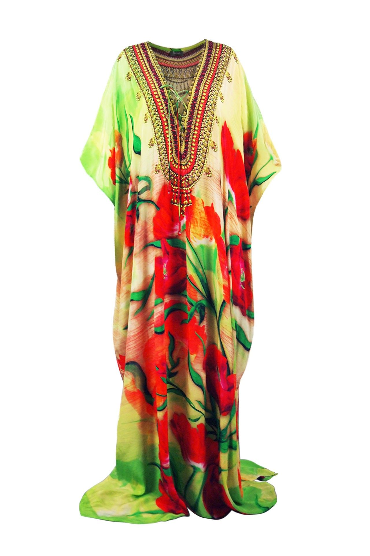 90f8944b113a Kaftan Maxi Dress - Designer Kaftan Dresses | Lace Up Kaftans For Women -  Shahida Parides