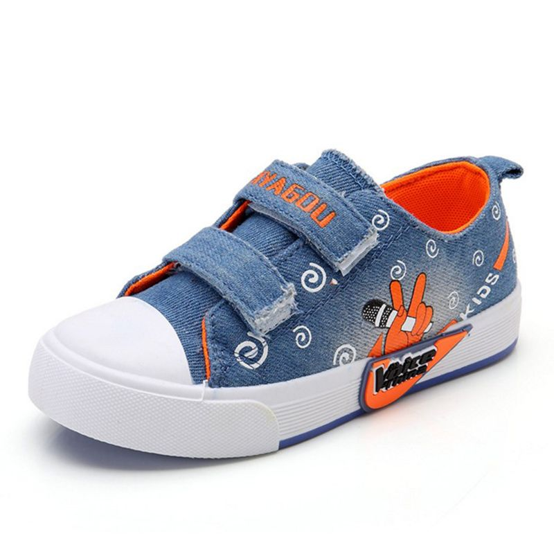 15c7dbae9b5f New Childrens Shoes Fashionable Baby Shoes Canvas Shoes Kids For Girls And  Boys