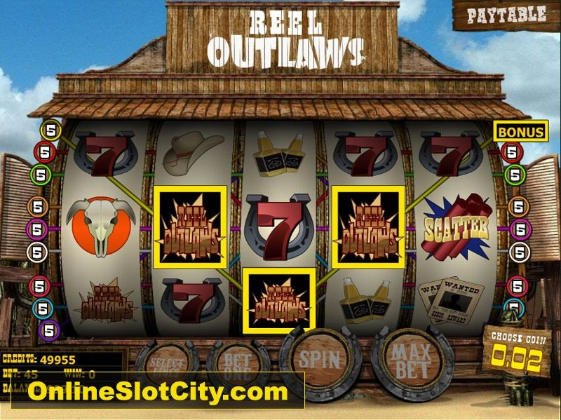 Outlaw Slot Machine