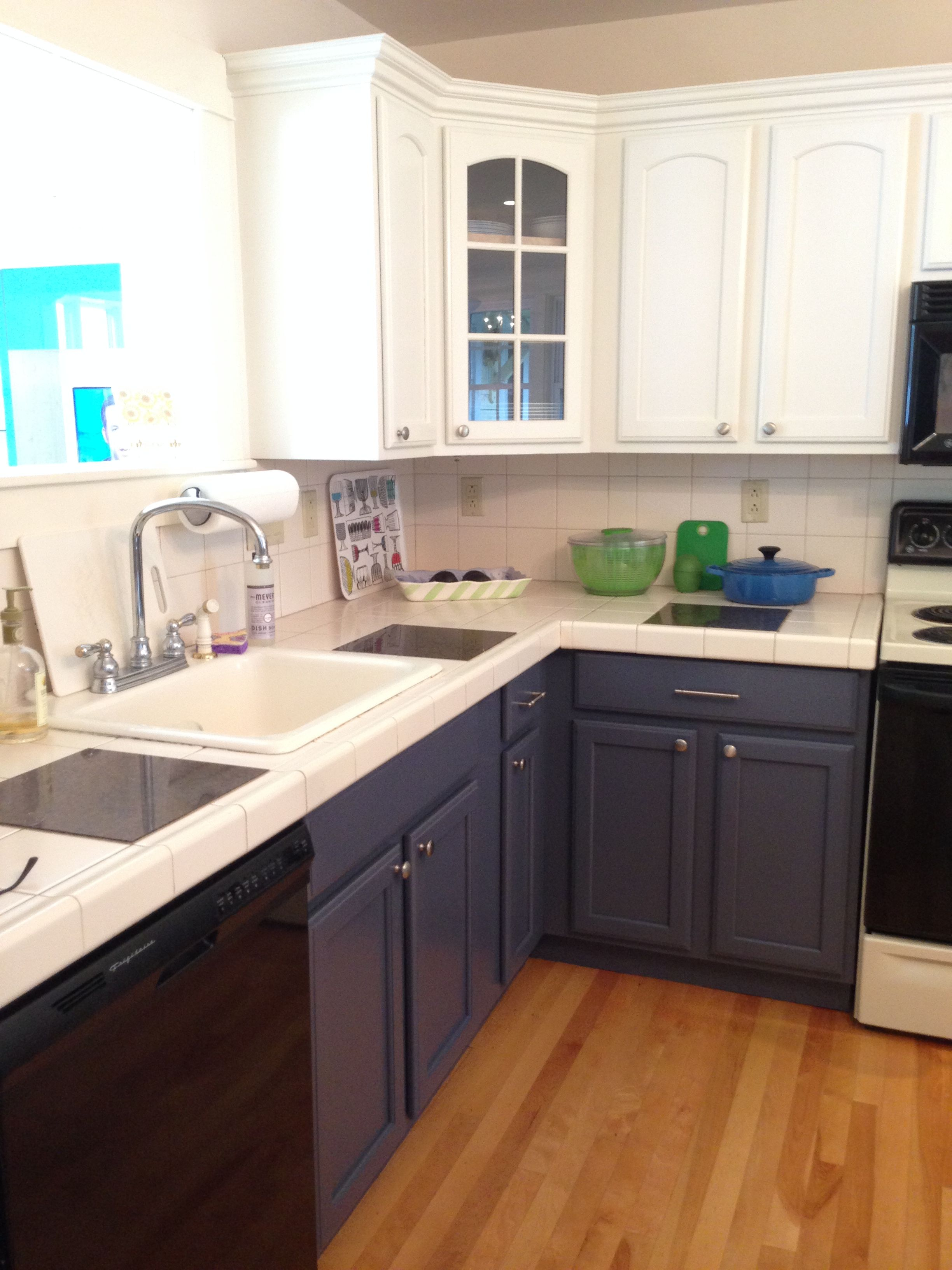 Our Maine cottage kitchen transformed - with paint and new ...