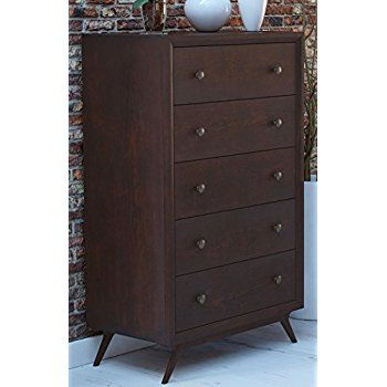 Best Amazon Com South Shore Olly Mid Century Modern 5 Drawer 640 x 480