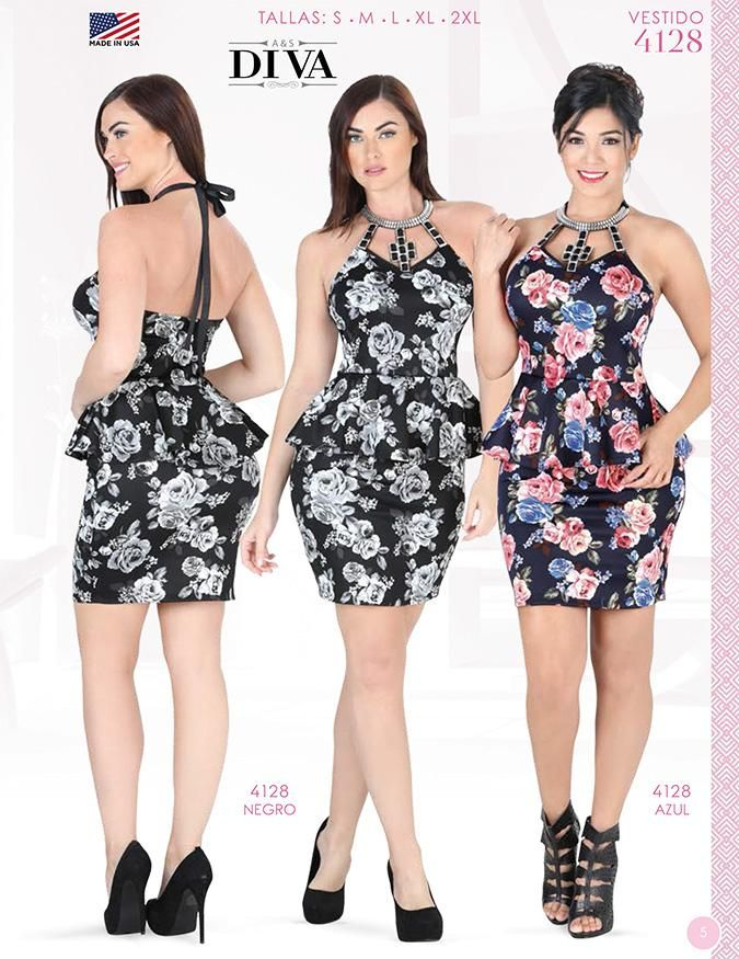 Vestido Moda Diva Para Damas Original Dress Ladies Diva Fashion Original Aleja Pinterest