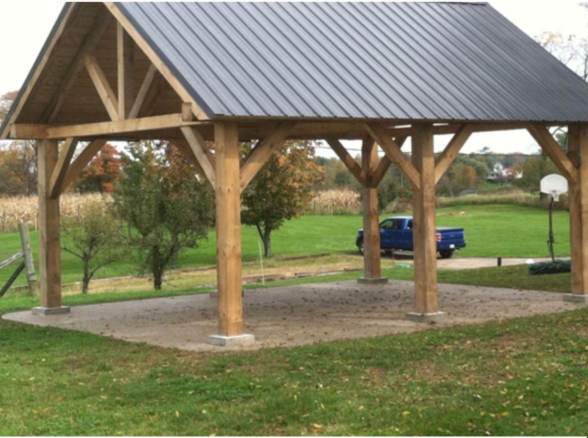 What I Need Outdoor Pavilion Backyard Gazebo Cozy