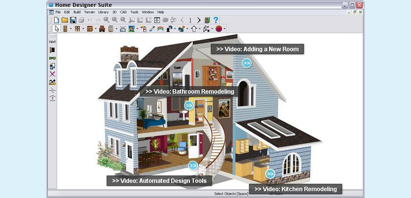 Remodeling And Home Design Software For DIY Home Enthusiasts. Use  Professional Grade Home Design Software With Automated Building Tools To  Design Your Next ...