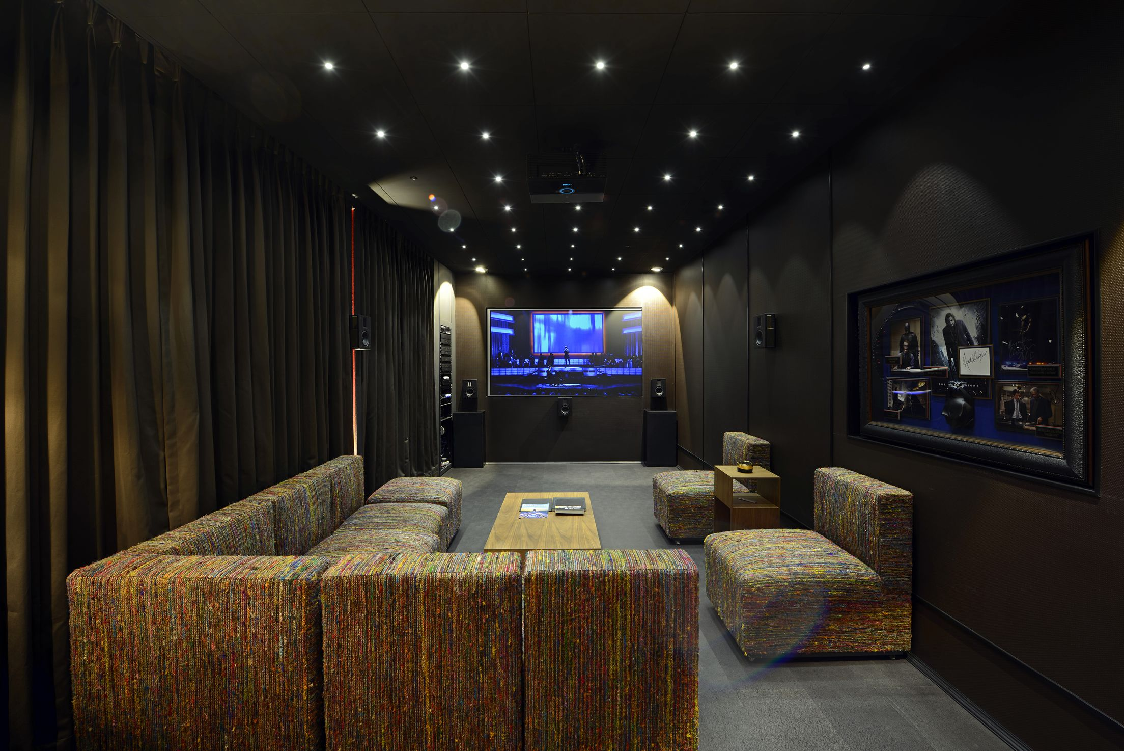 Showroom design contemporary home theater minneapolis by - Trescent Lifestyles Presents The Steinway Lyngdorf S Series Home Theater System Displayed Exclusively At