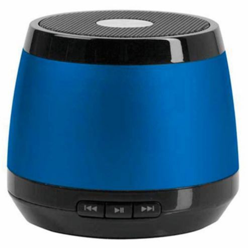 HMDX JAM Classic Wireless Bluetooth Speaker, Blue (With