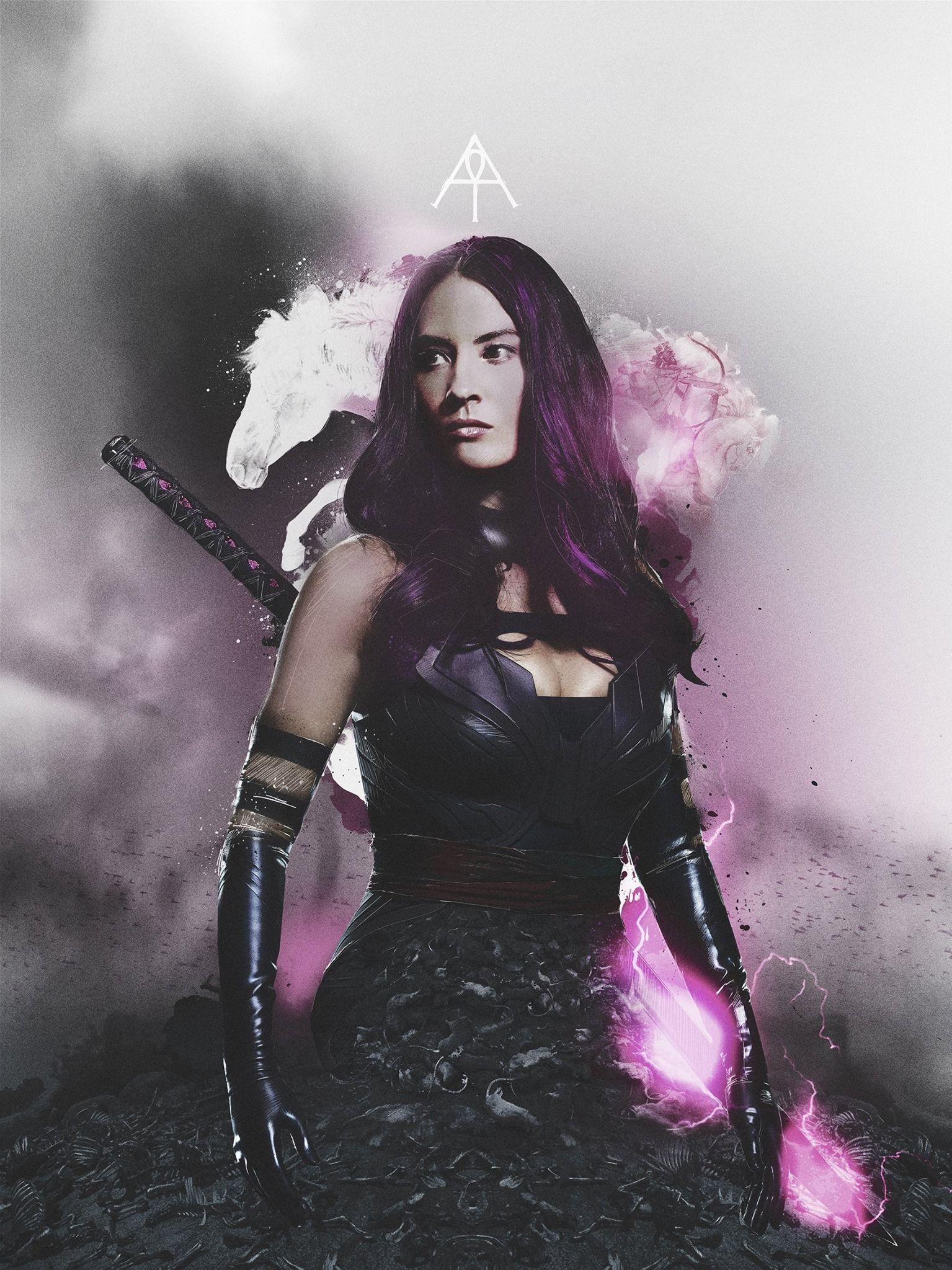 X-Mens Olivia Munn Reveals New Psylocke Photo - Movies