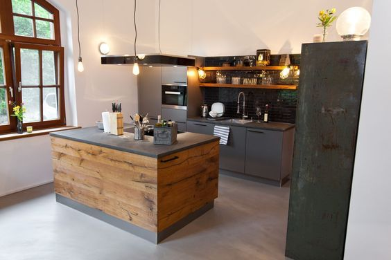 Küchenpläne küche wenn landhausstil auf moderne trifft küchenhaus thiemann