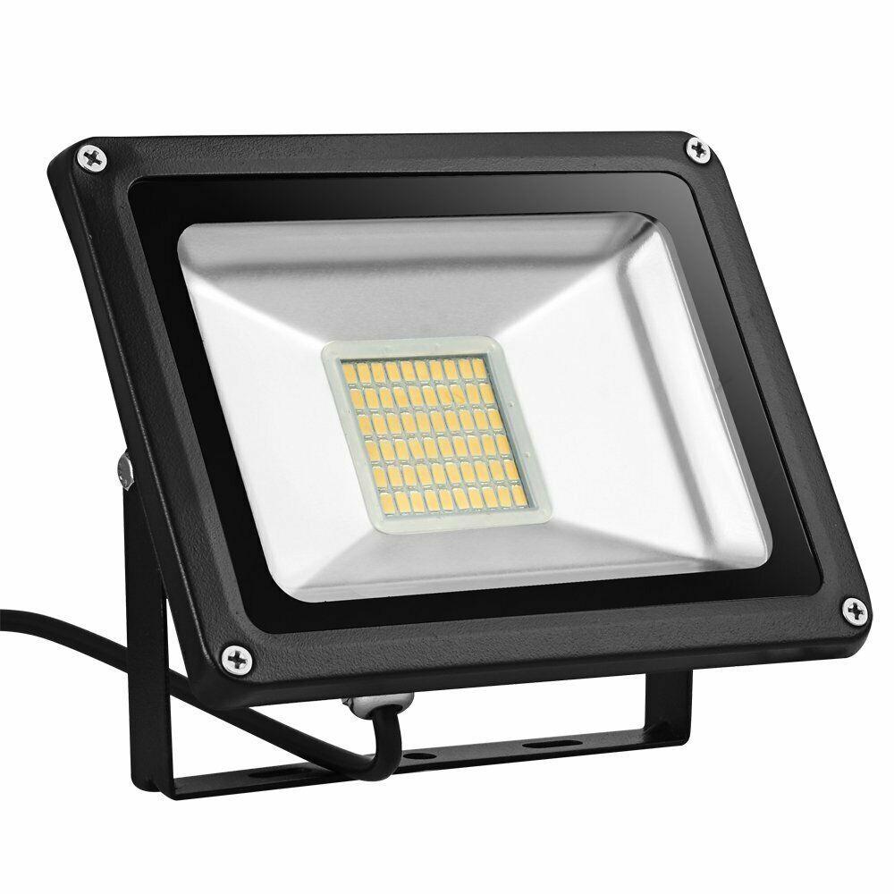 Sponsored Ebay Led Flood Light Getseason 10w 20w 30w Ip65 Waterproof Aluminium 12v Wall Outdoo Led Flood Lights Flood Lights Led Flood