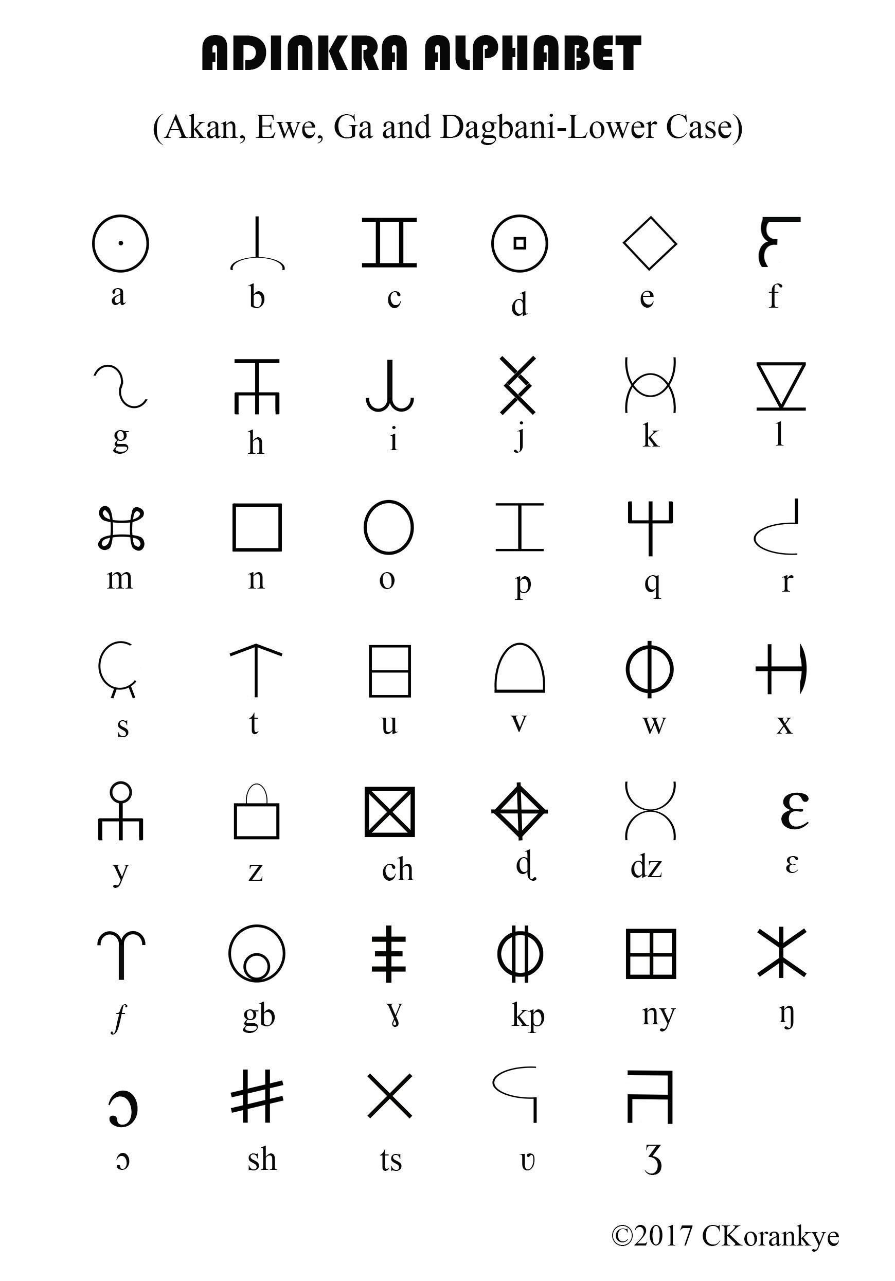 Pin By Adinkra Alphabet On Adinkra Alphabet