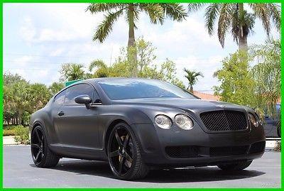 2005 Bentley Continental Bentley Continental Gt Bentley Continental Bentley