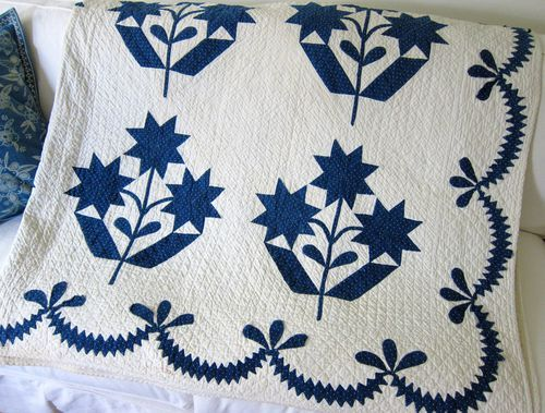 Antique quilt from be*mused blog
